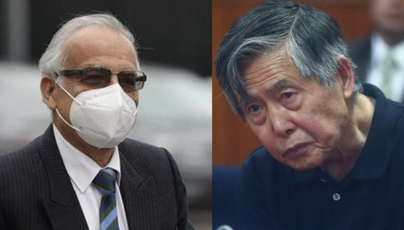 El ministro de Justicia Aníbal Torres afirmó que evalúan el traslado de Alberto Fujimori a una cárcel común. (GEC)