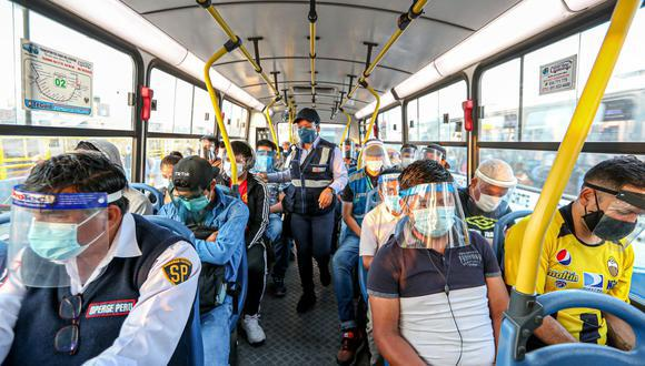 Personal de la ATU reforzará acciones de fiscalización al transporte urbano en más de 100 puntos de Lima y Callao. (Foto: Andina)