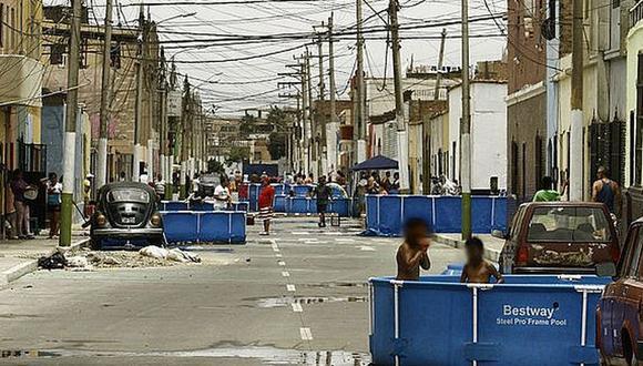 Piscinas portátiles (Foto: Archivo Correo)