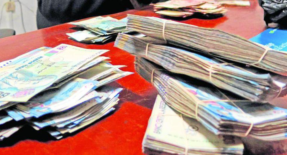 """Nueve meses de prisión preventiva por pagar truchas con billetes """"""""truchos"""""""""""