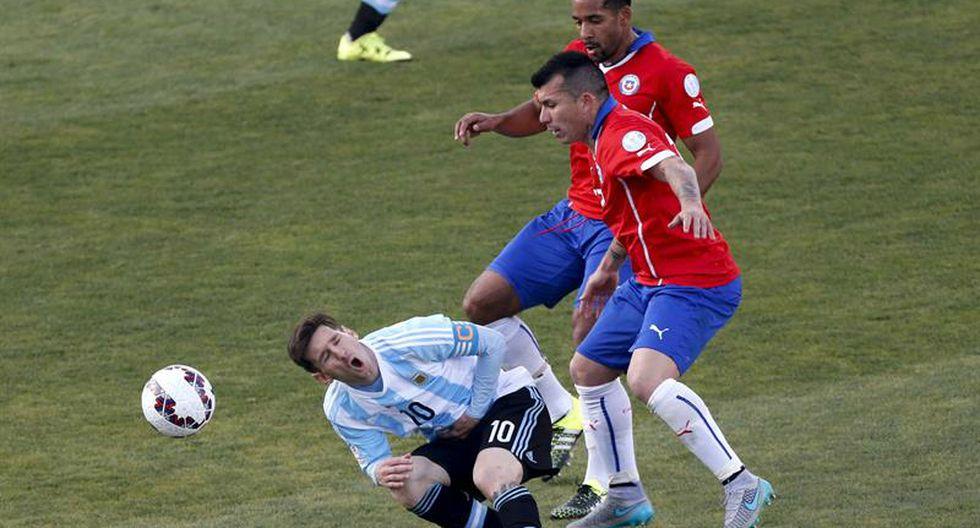 Denuncian agresión a la familia de Messi durante la final de la Copa América