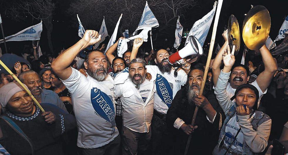 Continúan las pugnas internas en el Frepap luego de los resultados obtenidos en las Elecciones 2020. (Foto: GEC)