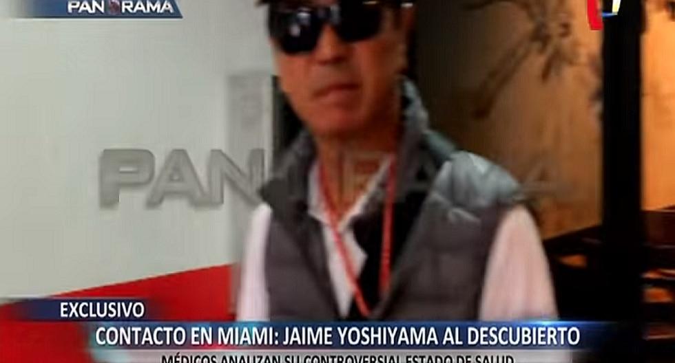 Jaime Yoshiyama: especialistas sostienen que su salud no estaría comprometida (VIDEO)