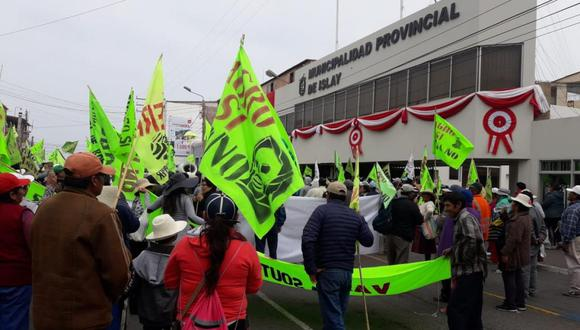 Juicio se volverá a realizar por protestas del año 2015 (Foto: Zenaida Condori)