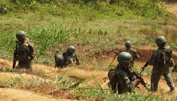 Los remanentes del Vraem fueron detectados en el distrito de Llochegua por los efectivos de las FF.AA. y el 3 de julio, una patrulla de fuerzas especiales sostuvo tres enfrentamientos con los elementos terroristas que protegían sus instalaciones.