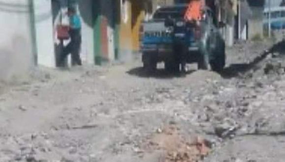 Tras la denuncia pública, representantes del Ministerio Público, intervinieron en la municipalidad y en la vivienda que sería del alcalde distrital de Carmen Alto