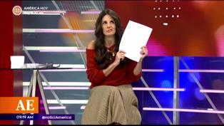 "Rebeca Escribens crítica a las participantes de ""Reinas del show"""
