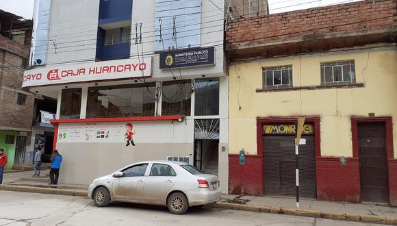 Fiscalía Anticorrupción de Huancavelica.