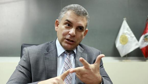 El fiscal Rafael Vela afirmó que el fiscal Germán Juárez Atoche, tiene toda la evidencia documentaria del caso que involucra al presidente Martín Vizcarra. (Foto: Juan Ponce /GEC)