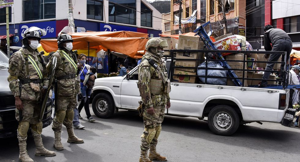 El confinamiento como medida de lucha contra el coronavirus continuará en Bolivia hasta el 30 de abril. (Foto: AFP/Aizar Raldés)