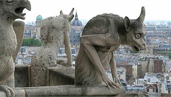 Esta es la maldición que encierran las gárgolas de la catedral de Notre Dame