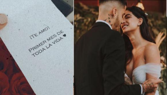 La pareja se casó por el civil el pasado el 17 de febrero último en Trujillo.