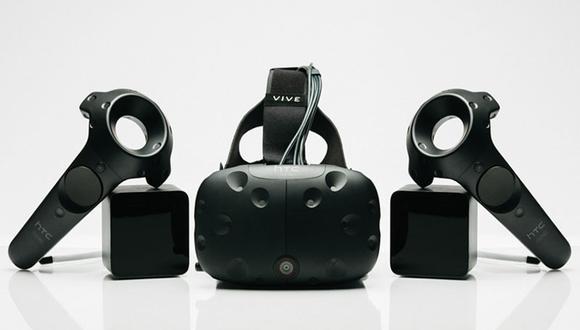 HTC presentó su sistema de realidad virtual