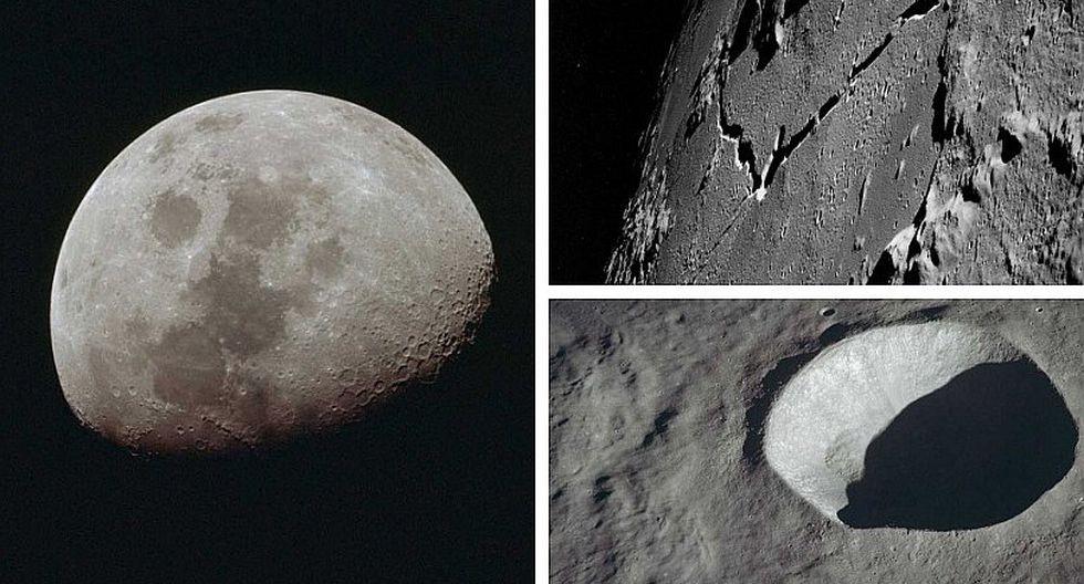 La luna se encoge con la edad, según la NASA (VIDEO)