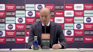 """Zinedine Zidane: """"El gol de Militao ha sido una liberación"""""""