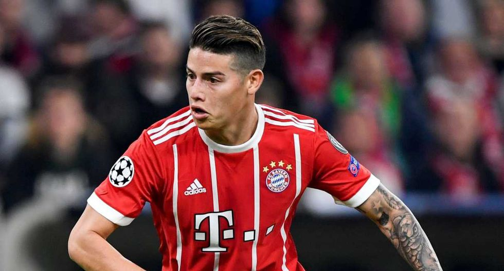 James Rodríguez defendió a Bayern Múnich en dos temporadas. (Foto: AFP)