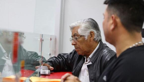 Pensionistas de la ONP de diversas regiones del país exigieron al Congreso de la República acelerar la aprobación de este proyecto (Foto: Andina)