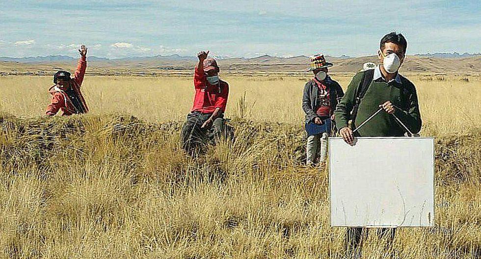 Profesor vence obstáculos a 4 mil metros de altura para enseñar a sus estudiantes en Cusco (FOTOS)