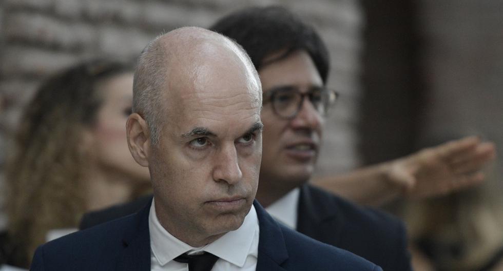 Imagen del alcalde de Buenos Aires, Horacio Rodríguez Larreta. (Juan MABROMATA / AFP).
