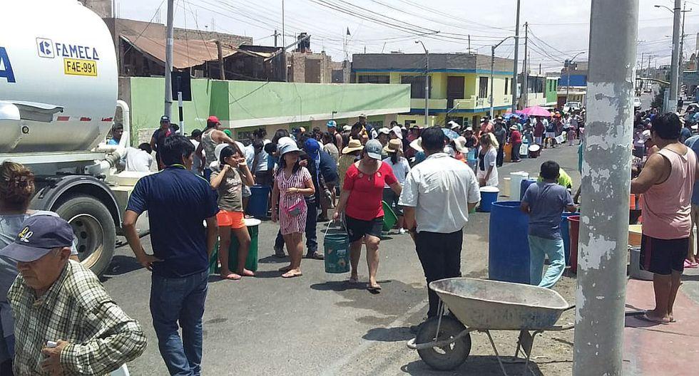 Más de 70 mil habitantes de la ciudad de Ilo sufren por falta de agua potable