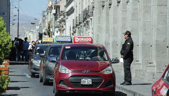 Declaran improcedente el hábeas corpus presentado en contra del plaqueo en Arequipa