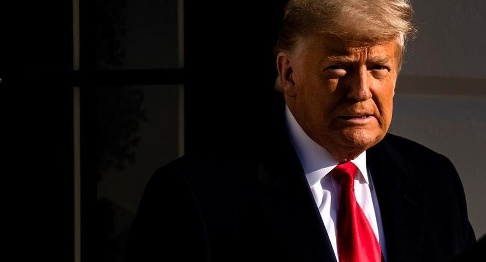 Imagen de Donald Trump, expresidente de Estados Unidos. (Foto: EFE/EPA/Samuel Corum).