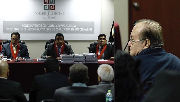 Luis Nava entregó sus pasaportes en audiencia y criticó congelamiento de sus cuentas