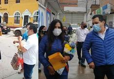 Congresistas Cecilia García y José Luna hacen campaña electoral en Huánuco pese a COVID-19 (VIDEO)