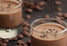 Conoce cómo preparar batido helado de chocolate
