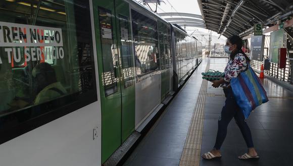 Empresa operadora indicó que se continuará con el monitoreo de la cantidad de pasajeros que hacen uso de la Línea 1 y el flujo de ingresos en las estaciones. (Foto: César Campos / GEC)
