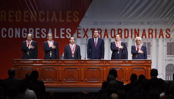 JNE proclamará resultados y entregará credenciales - Fotos: Leandro Britto - César Campos/Gec