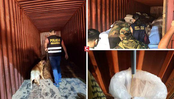 """Perrita """"Any"""" frustra envío de 40 kilogramos de cocaína líquida hacia España"""