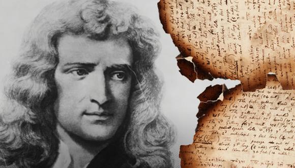 Isaac Newton descubrió las leyes del movimiento y la gravedad, y fue presidente de la sociedad de científicos más antigua de Reino Unido, Royal Society. (Fuente: Captura/Youtube/Libre Pensar/Southeby's)