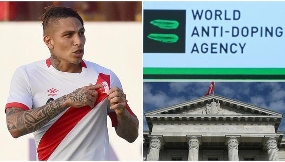 WADA se pronuncia tras decisión de justicia suiza que libera a Paolo Guerrero para jugar el Mundial