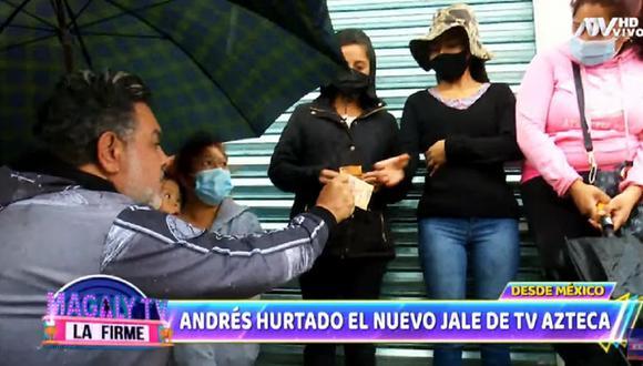 Andrés Hurtado firmó para TV Azteca de México. (Foto: Captura Magaly TV: La Firme).