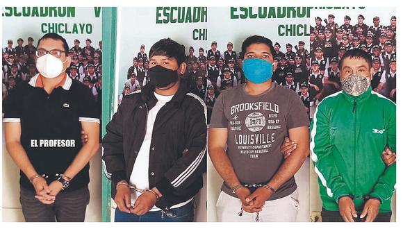 """Detienen a implicado en """"La Gran Familia"""" en Chiclayo"""