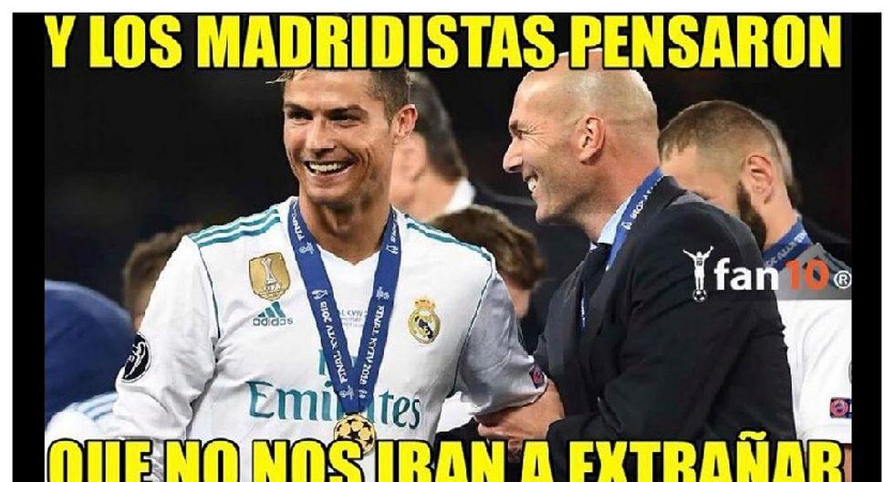 Recuerdan a Cristiano Ronaldo en memes por derrota del Real Madrid ante Atlético de Madrid (FOTOS)