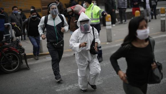 El Perú podría sufrir un rebrote de sus casos de coronavirus tras el término de la cuarentena   Foto: Anthony Niño de Guzmán GEC