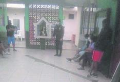 Ocho personas detenidas por jugar voley en Chimbote