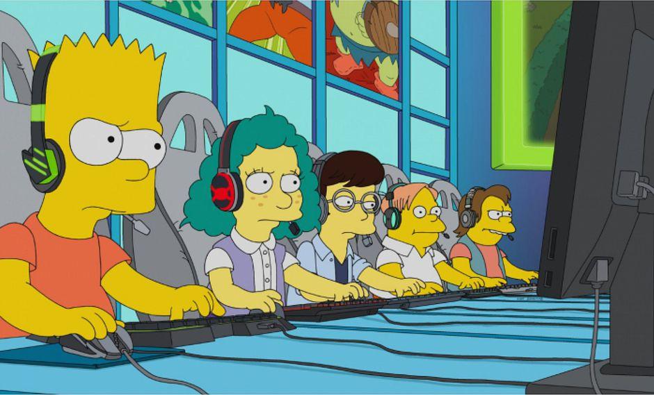 Los Simpson: League of Legends aparecerá en un episodio dedicado a los eSports