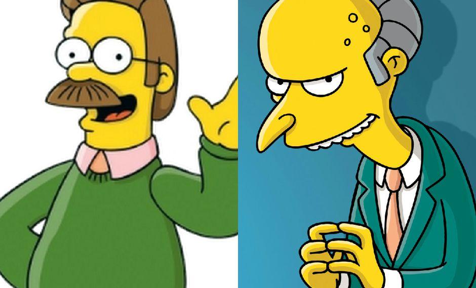 Los Simpsons: Voz de Ned Flanders y Mr. Burns se aleja de la serie