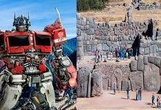 Transformers en Cusco: Muro de Sacsayhuamán se convertiría en un robot durante la cinta