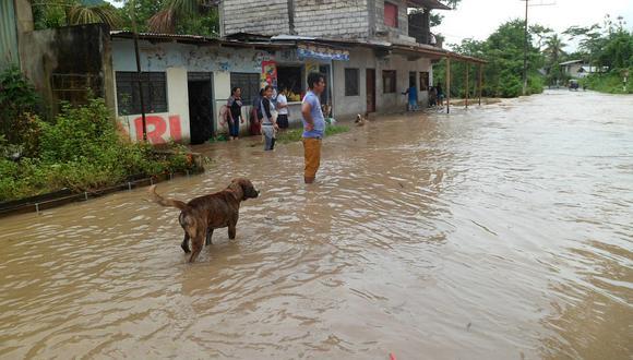 San Martín: río Huallaga inunda comunidades en Alto Amazonas