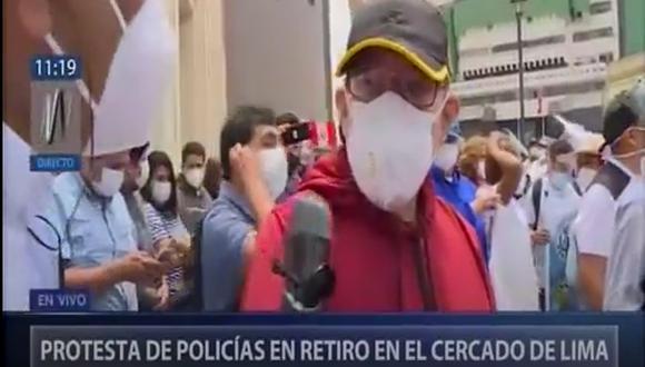 Decenas de personas se acercaron al Cercado de Lima (Canal N)