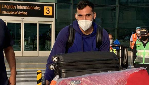 Pablo Míguez llegó a Perú para sumarse a Alianza Lima. (Foto: @Pame_RiosCalmet)