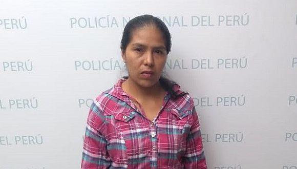 Detienen a mujer que fue a recoger diez kilos de marihuana en agencia de Lima