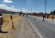 Liberan Carretera Central luego de más de 29 horas de permanecer bloqueada