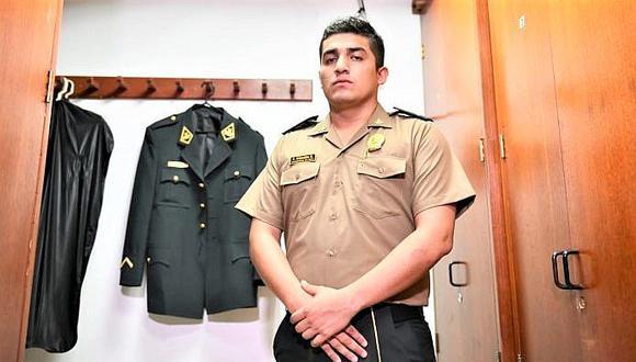 Fiscal solicita archivar la investigación contra el policía Elvis Miranda
