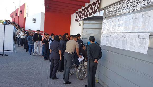 Minedu: 124 docentes no acudieron a examen de nueva escala magisterial en Tacna