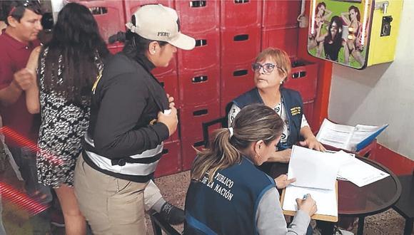 Venezolanas intervenidas en restobar de Chiclayo